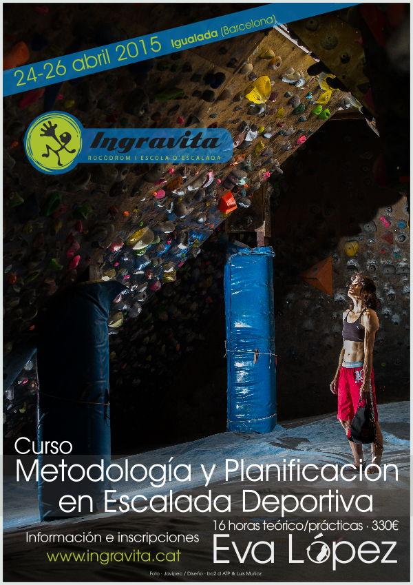 Eva Lopez 2015-Curso metodologia y planificacion Ingravita-cartel version web